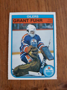 2 CARTES HOCKEY CARD RC ROOKIE G. FUHR ET J. KURRI