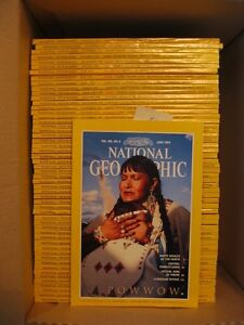 95 REVUES NATIONAL GEOGRAPHIC A VENDRE