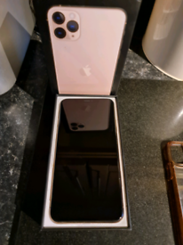 Iphone 11 pro max Rose gold 256GB mint boxed