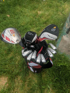 Complete Men's Right Handed Taylormade Burner Golf Club Set **