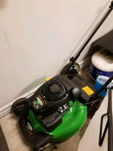 Almost new lawnmower for sale