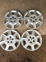Set of 4 Hubcaps for Ford