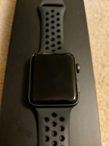 42 mm Apple watch series 3 Nike edition with GPS and LTE