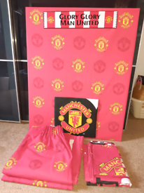 Manchester United bedroom items