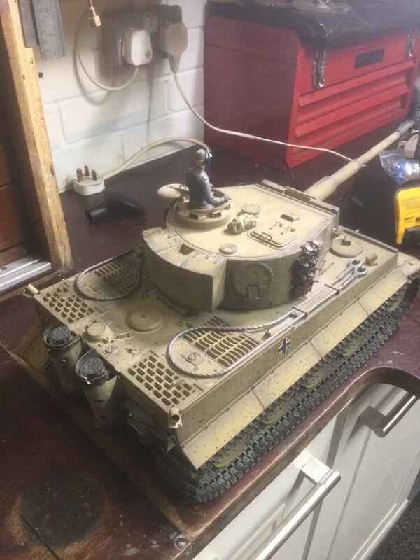 Taigen Tiger tank 1/16 scale full option | in Portsmouth, Hampshire |  Gumtree