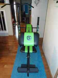 Weight Bench And Weights Buy Or Sell Sporting Goods Exercise In Calgary Kijiji Classifieds
