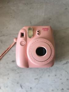 Instax Mini 8 Polaroid Camera-Pink