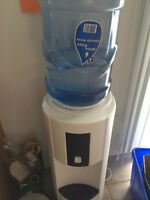 Tall free standing water cooler
