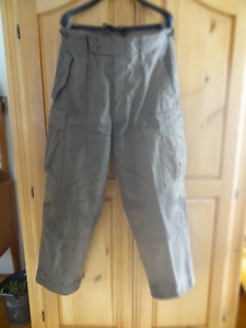 Heavy Wool Trousers