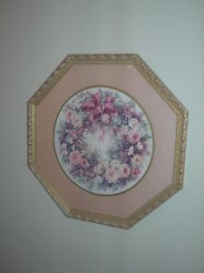 """""""Wreath of Roses"""" Framed Limited Edition Print by Lena Y. Liu Kitchener / Waterloo Kitchener Area image 2"""
