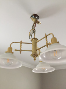 Brass Dining Room Lamp
