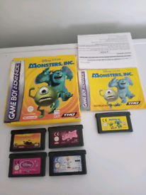 5 Gameboy Advance Games for £20 all in perfect working order