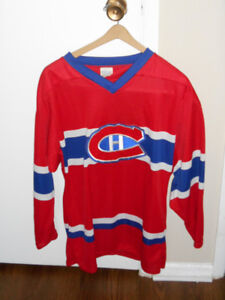 Montreal Canadiens Unnumbered Jersey (Small Adult)
