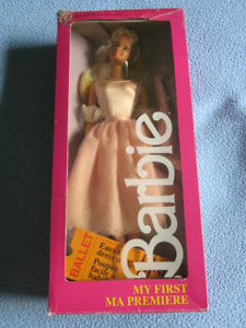 1986 My First Barbie Doll Ballet Ballerina doll