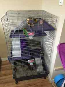 5 storey KAYTEE animal shelter- perfect condition