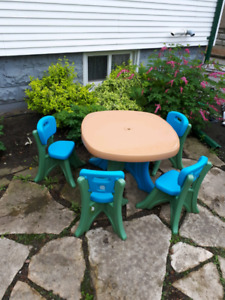 Step 2 Outdoor Table with 4 Chairs - Bargain Price