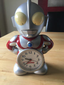Ultraman plastic alarm clock toy