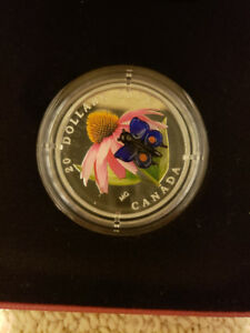 Venetian Glass Butterfly $20 coin - Royal Canadian Mint