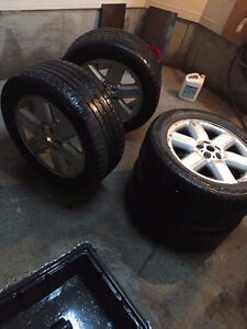 Continental winter tires.