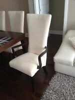 BERMEX DINING TABLE AND 6 CHAIRS