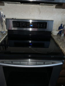 Samsung Induction Stove with Convection Oven &Warming Drawer