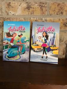 Livres de la populaire série de romans: Juliette