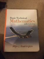 Basic Technical Mathematic with Calculus SI Version 9th Edition