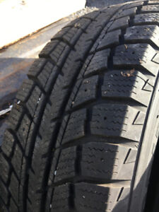 P19565R15 Snow Tires Like New
