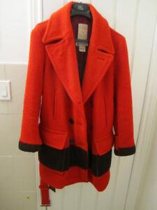 Vintage Red Hudson's Bay Coat