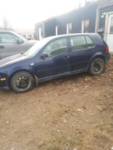 For sale:  2003 VW Golf TDI