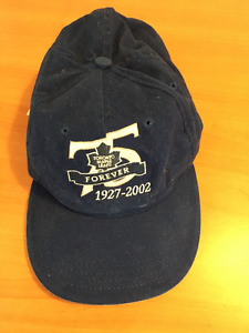 VINTAGE TORONTO MAPLE LEAFS 75 ANNIVERSARY ADJUSTABLE BASEBALL C