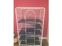 LARGE 3 TIER ANIMAL CAGE!