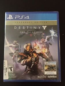 Ps4 destiny the taken king legendary edition never opened
