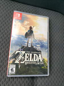 Zelda Nintendo Switch $60 or trade in Milton ON