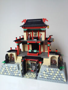 LEGO Orient Expedition 7419 Dragon Fortress and 5928 Bi-Wing