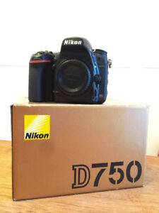 Nikon D750 Body - used, but like new!