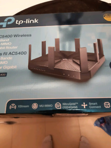 New TP-Link AC5400 Triple Band Gigabit Router MU-MIMO