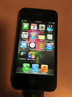 Iphone 4- Black- Locked to Rogers-
