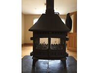 Hunter Herald 8 double sided stove