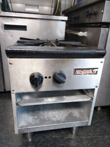 Single Gas Stock Pot Stove - Commercial Food Equipment