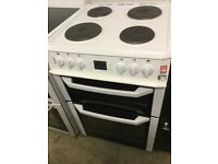 Beko white Electric Cooker 60cm Wide,