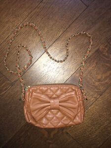 TALLY WEIJL TAN PURSE FOR SALE!