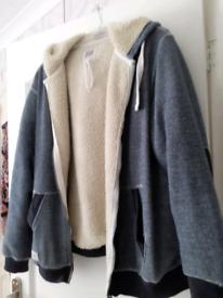 Large south Dean street hooded jacket