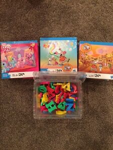 Lot of puzzles and games