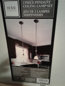 Two pendant ceiling light set for sale, brand new.
