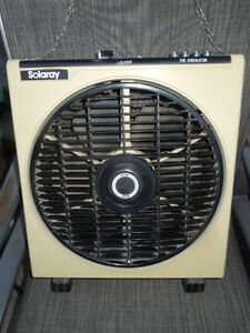 Solaray Circulator Fan