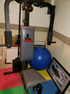Weider brand exercise machine