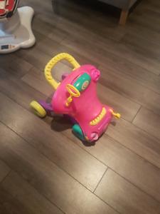 Hasbro Playskool Walker N Play Ride