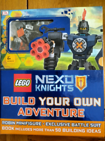 New lego nexo knights build your own adventure.