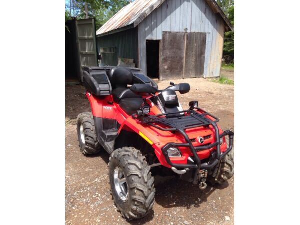 Used 2008 BRP outlander max xt